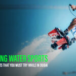Flyboarding water sports Dubai
